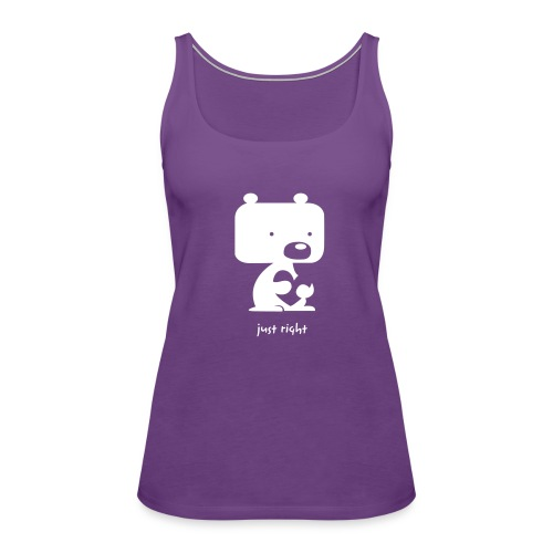 Just Right Baby Bear Love Tank - Women's Premium Tank Top