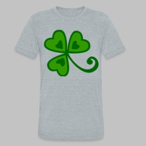 Shamrock Arty Ire mkp - Unisex Tri-Blend T-Shirt by American Apparel