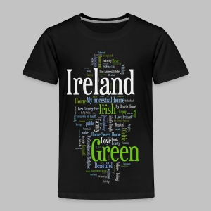Ireland Words - Toddler Premium T-Shirt