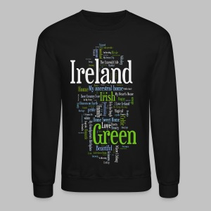 Ireland Words - Crewneck Sweatshirt