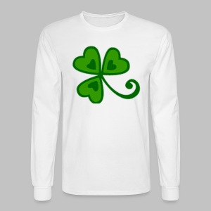Shamrock Arty Ire mkp - Men's Long Sleeve T-Shirt