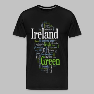 Ireland Words - Men's Premium T-Shirt
