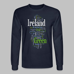 Ireland Words - Men's Long Sleeve T-Shirt