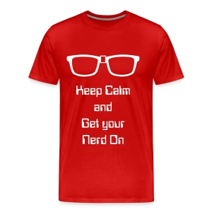 Get Your Nerd On Shirt - Men's Premium T-Shirt