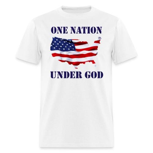 ONE NATION UNDER GOD - Men's T-Shirt