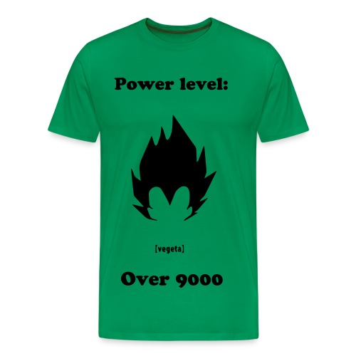 OVER 9000 - Men's Premium T-Shirt