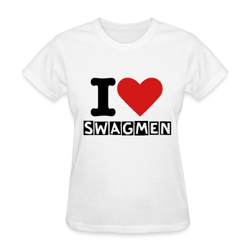 I Love SwagMen Ladies T-Shirt - Women's T-Shirt