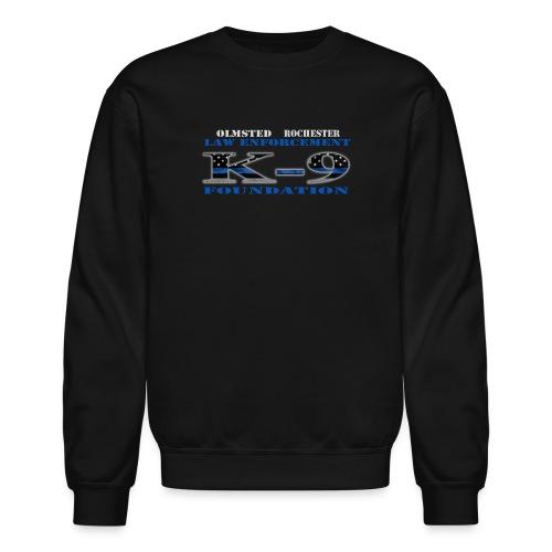 Men's Sweatshirt K-9 Design - Crewneck Sweatshirt