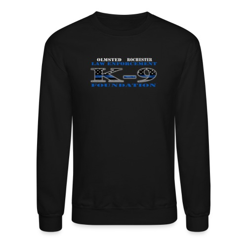 Men's Sweatshirt K-9 Design - Crewneck Sweatshirt