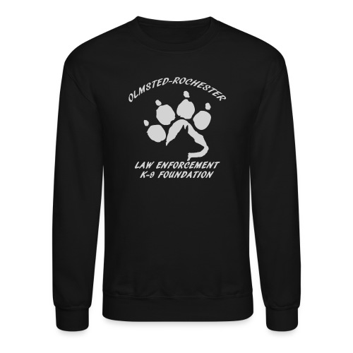 Men's Sweatshirt Paw Design - Crewneck Sweatshirt