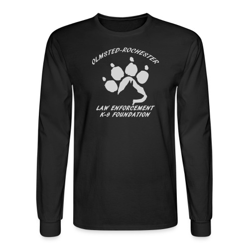 Men's Long Sleeve T-Shirt Paw Design - Men's Long Sleeve T-Shirt