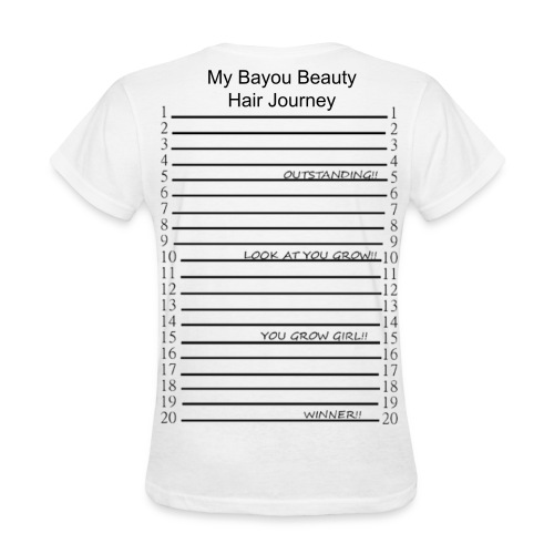 GrowOut Hair Journey 2 - Women's T-Shirt