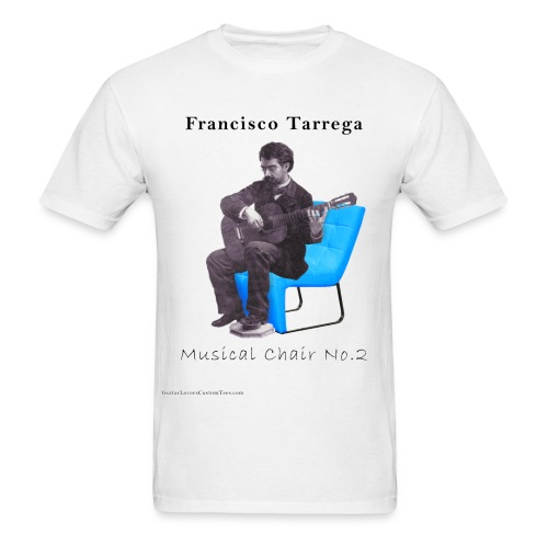 Tarrega's Musical Chair No.2 - Men's T-Shirt