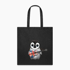 British Guitar Penguin Bags & backpacks