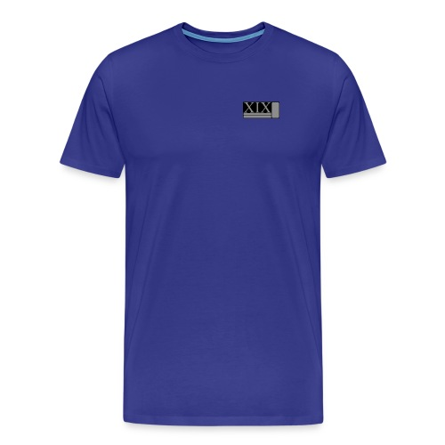 Men's blue Porter XIX t-shirt - Men's Premium T-Shirt