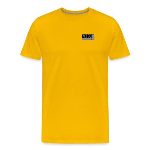 Men's yellow Porter XIX t-shirt - Men's Premium T-Shirt