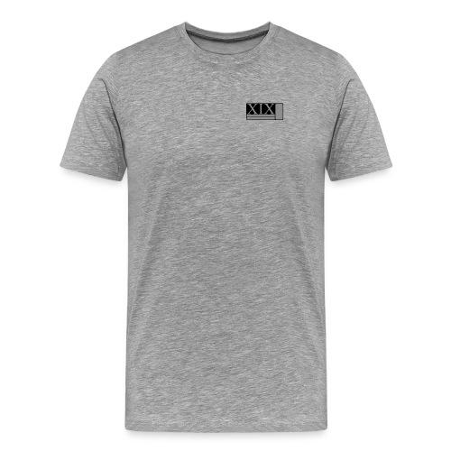 Men's grey Porter XIX t-shirt - Men's Premium T-Shirt
