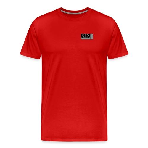 Men's red Porter XIX t-shirt - Men's Premium T-Shirt