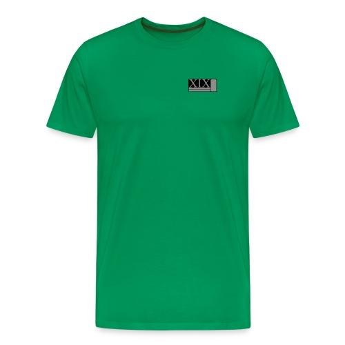 Men's green Porter XIX t-shirt - Men's Premium T-Shirt