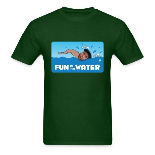 Fun in the Water Easy-T  | $13.90 - Men's T-Shirt