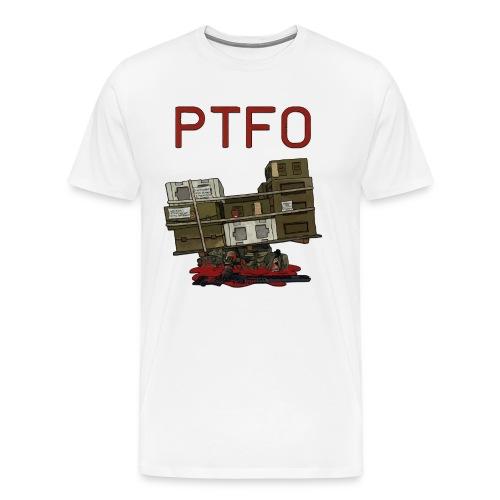 PTFO or else premium shirt zoom - Men's Premium T-Shirt