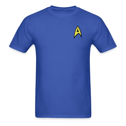 Star Trek Blue Shirt - Men's T-Shirt