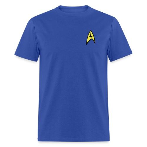 Star Trek Blue Shirt - Men's T-Shirt
