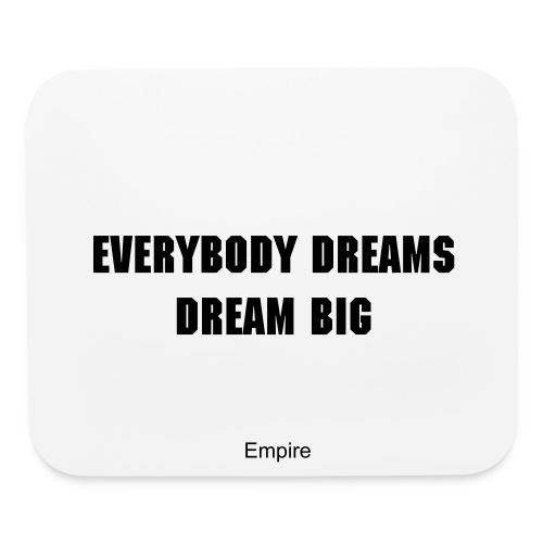Mouse pad - With motivational quote - Mouse pad Horizontal
