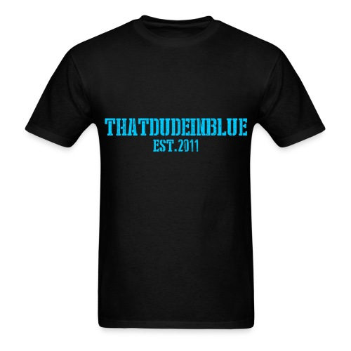 Thatdudeinblue Basic! - Men's T-Shirt