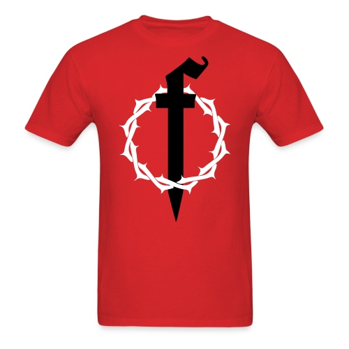 Crown of Thorns Red - Men's T-Shirt