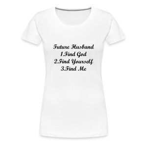FUTURE HUSBAND  - Women's Premium T-Shirt