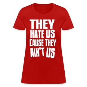 They Ain't Us DDS (Women's) - Women's T-Shirt