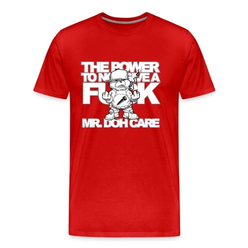 Unisex Mr. Doh Care Tee (Dark) - Men's Premium T-Shirt