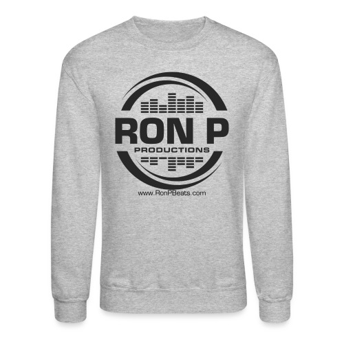 Ron P Productions Black Logo Sweatshirt - Crewneck Sweatshirt