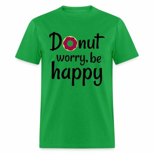 Donut worry, be happy - Men's T-Shirt