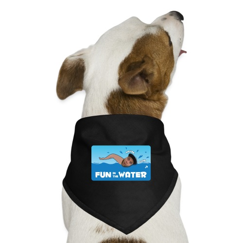 Fun in the water Doggie  | $13.90 - Dog Bandana