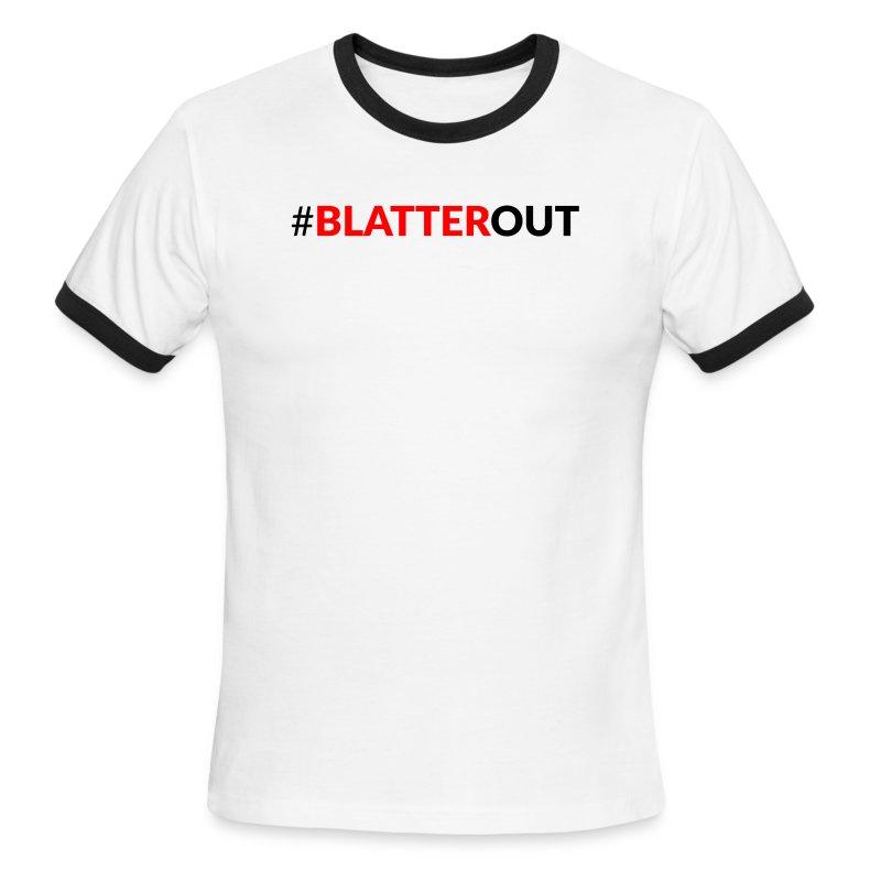 #BlatterOut Ringer T - Men's Ringer T-Shirt