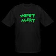 T-Shirts ~ Men's Tall T-Shirt ~ Vomit Alert Tall Shirt