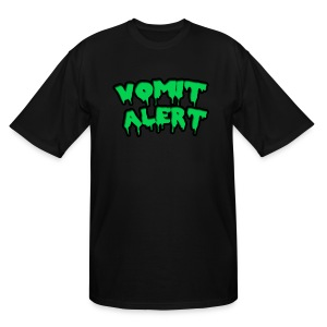 Vomit Alert Tall Shirt - Men's Tall T-Shirt