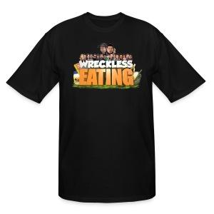 Wreckless Eating Cast Tall Shirt - Men's Tall T-Shirt
