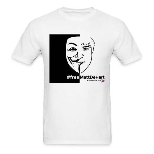 #freeMattDeHart - Men's T-Shirt