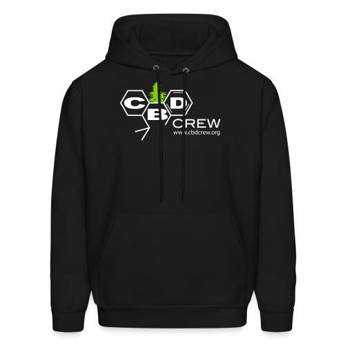 CBD Crew Men's Hoodie 2Color Logo - Men's Hoodie