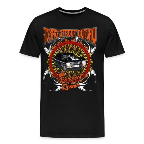 Men's Black Nova front and Skull back  - Men's Premium T-Shirt