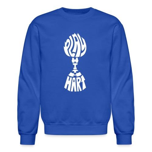 Play With Hart-Solid Crewneck Sweatshirt - Crewneck Sweatshirt