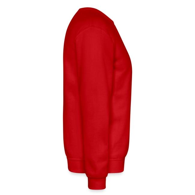 I Hart Hockey-Solid Crewneck Sweatshirt