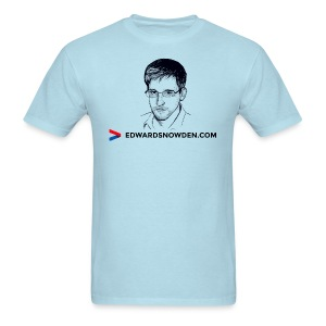Edward Snowden t-shirt - Men's T-Shirt