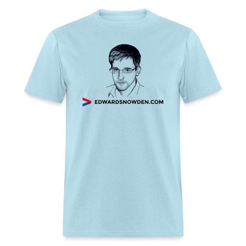 Edward Snowden t-shirt - Men's T-Shirt