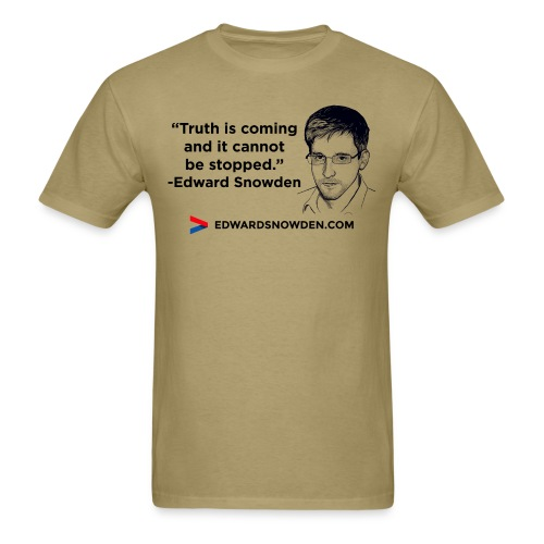 Truth is coming - Men's T-Shirt