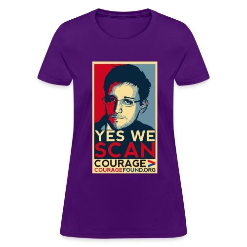 Yes we Scan - Women's T-Shirt