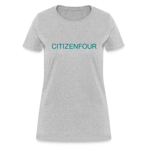 CITIZENFOUR t-shirt - Women's T-Shirt